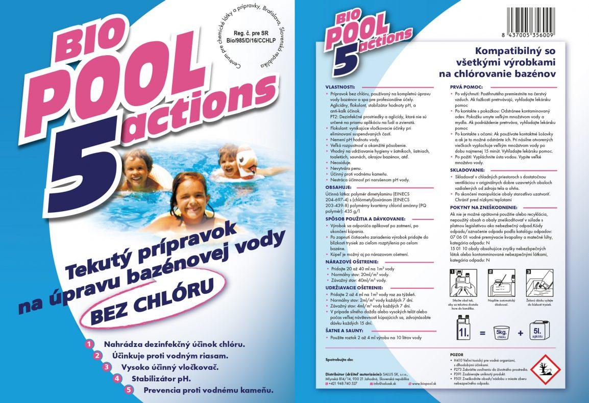 BioPool5Actions nálepka